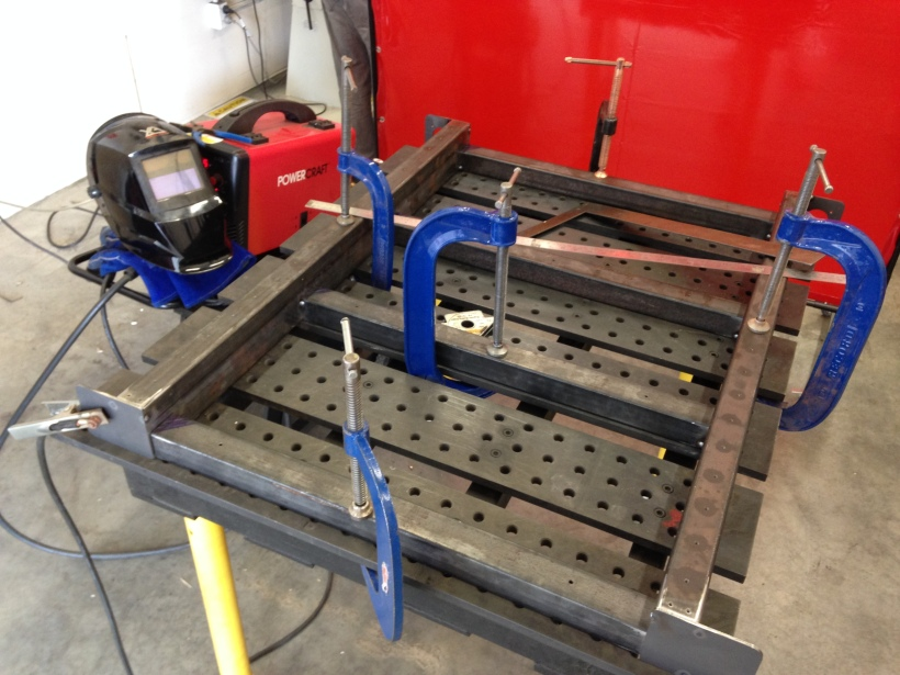 Diy Cnc Router The Base Frame Jeremy Young Design