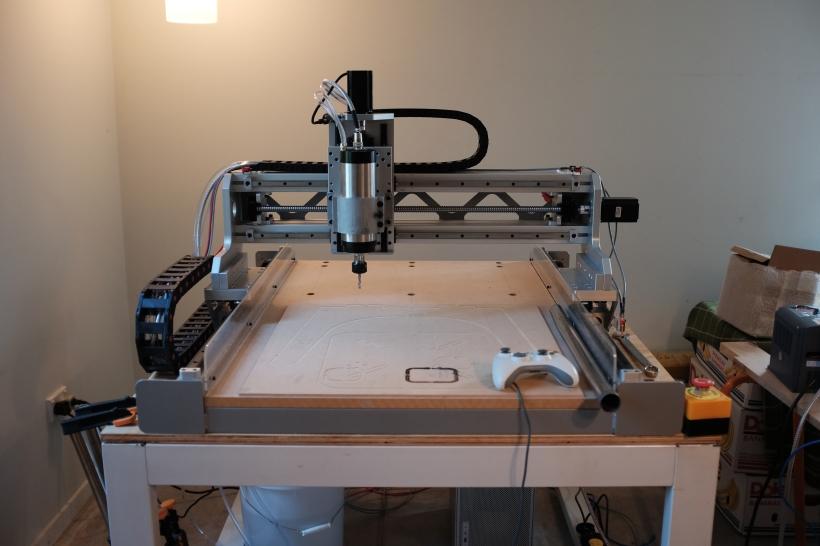 Diy Cnc Router Final Assembly Jeremy Young Design
